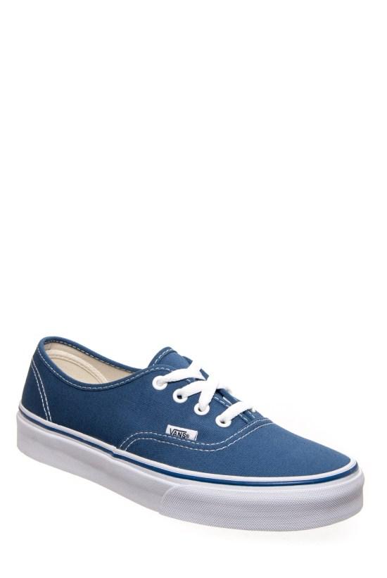 Vans Unisex Authentic Casual Sneaker – Navy 2c9fbea66