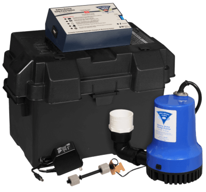 1850 system - backup battery