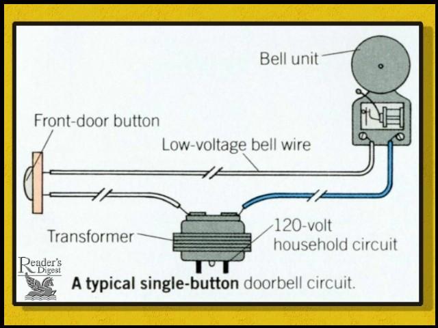 how to repair a door bell