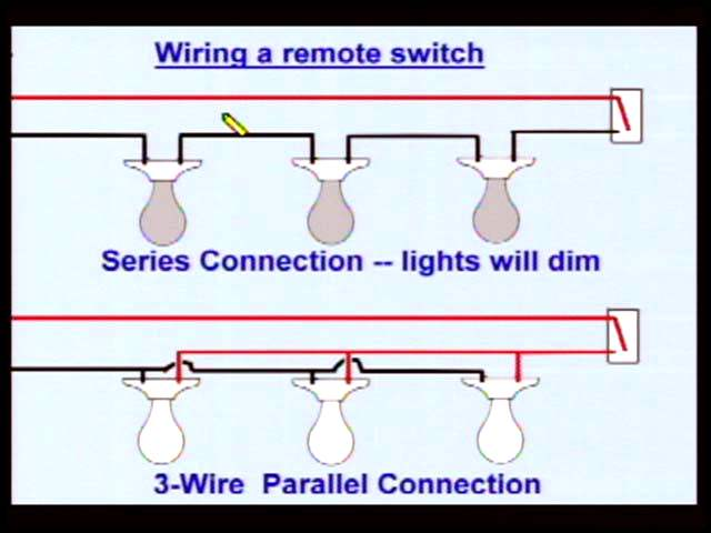 Electrical wiring confusion  dim lights