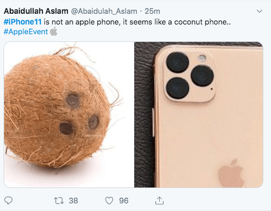 Apple Just Released The Iphone 11 And The Internet Is Roasting It