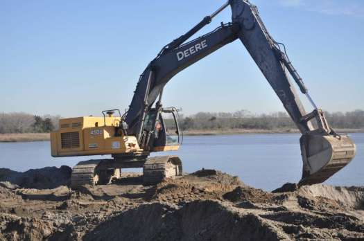 U.S. Army Corps of Engineers Savannah District photo Less than two years into the $973 million project to expand the Savannah Harbor, work is now 60 percent complete