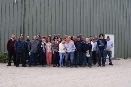 The Rob's Hydraulics team in Grimesland, N.C.