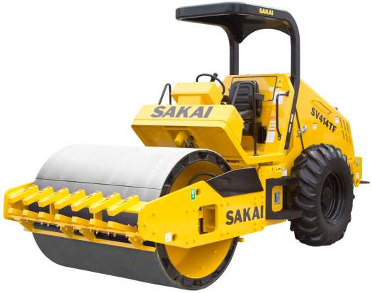 The Sakai SV204, SV414TF and SV544FB now feature Tier IV Final engines and enhanced capabilities as single-drum vibratory roller solutions in drum widths 54 to 84 in. (137 to 213 cm).