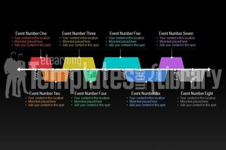 PowerPoint Timeline Graphic Template   Templates for PPT
