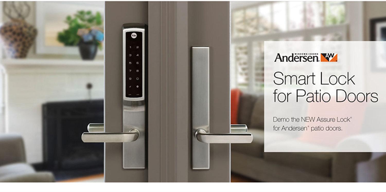 secure andersen hinged patio doors