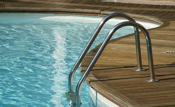 """Swimming Pool"" by Ian Britton"
