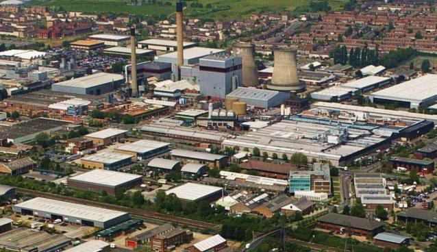 """""""Aerial View of Slough Trading Estate"""" by Sloughmani"""