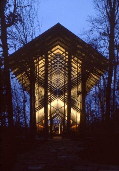 Thorncrown Chapel - Encyclopedia of Arkansas