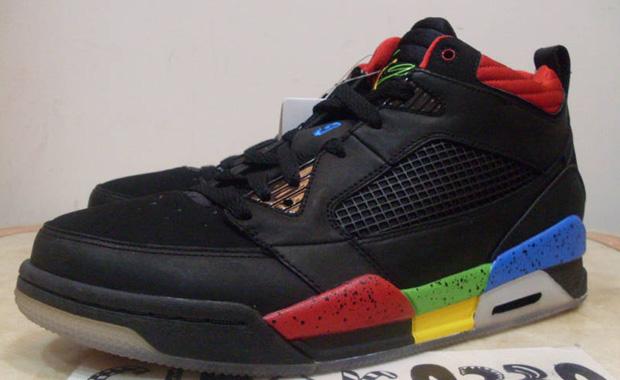 Air Jordan Flight 9 Black shoes