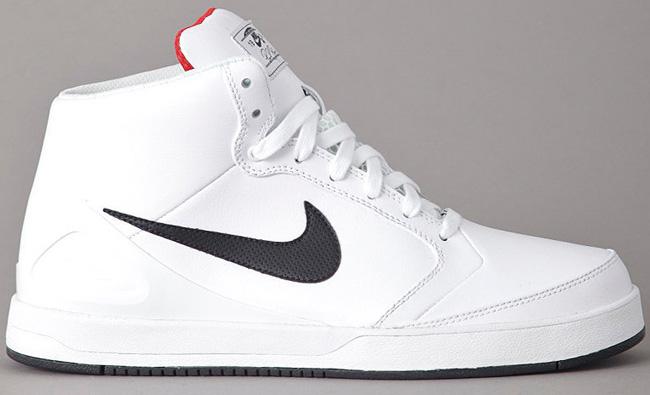 ... Nike SB Zoom Paul Rodriguez 4 High | White / Black / Sport Red