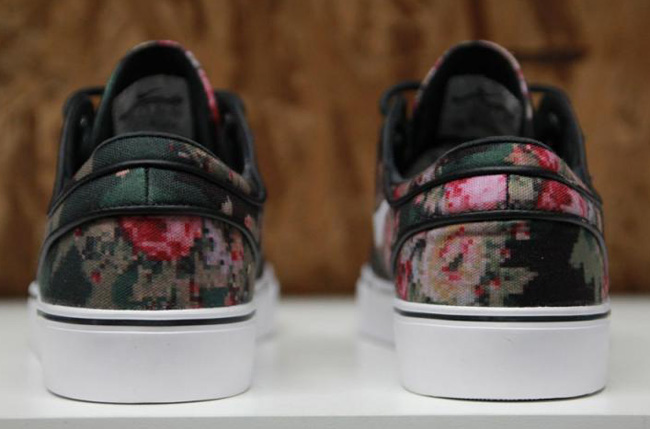 "Detailed Photos: Nike SB Zoom Stefan Janoski ""Digital Floral Camoâ€"