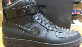 new style 6453c 6466f ... Releasing Nike Air Force 1 Downtown Hi Spike Black ...