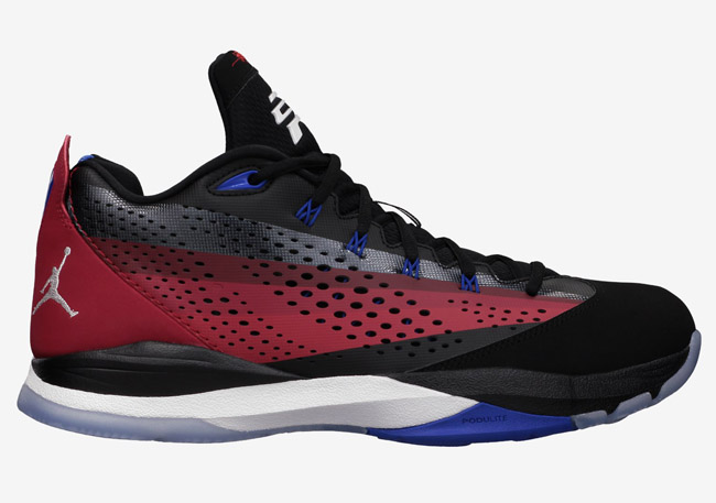 Jordan CP3.VII Black/White-Team Red-Gym Red Style# 616805
