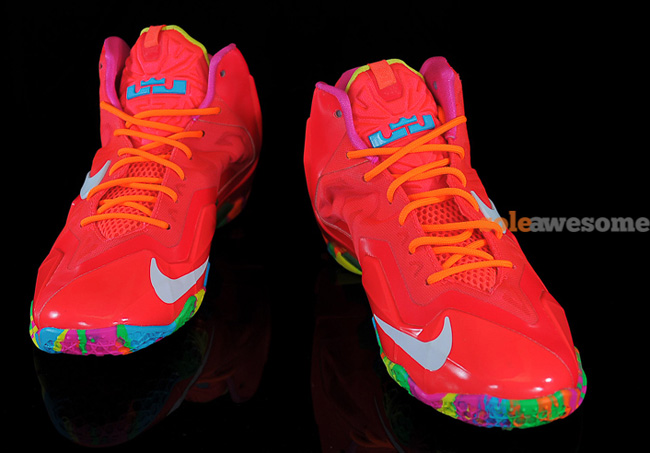 "e7d3c05bc3480 ... GS ""Fruity Pebbles"". Preview Nike LeBron 11"