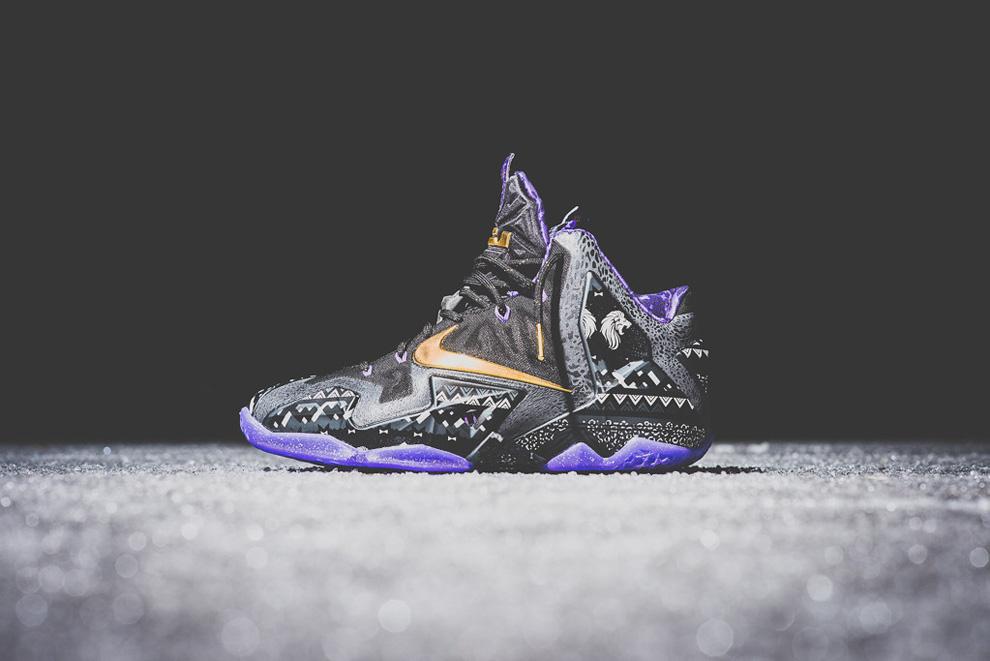 new york c9807 5f1ee Nike Lebron 11 Black History Month BHM Sneakers