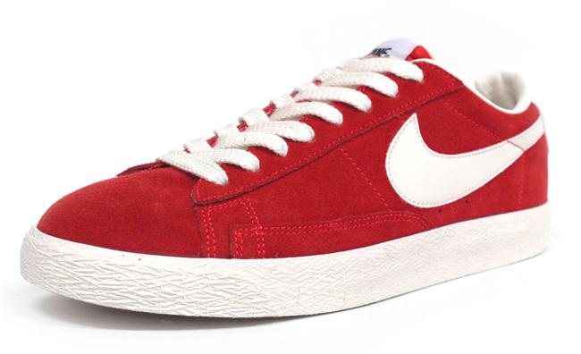 Nike Blazers Bas Rouge Haut vue rabais vente 2015 LPSUFlzt9