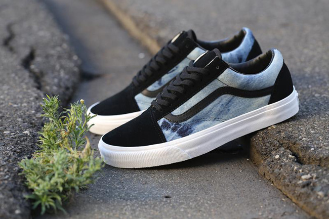 vans old skool acid denim