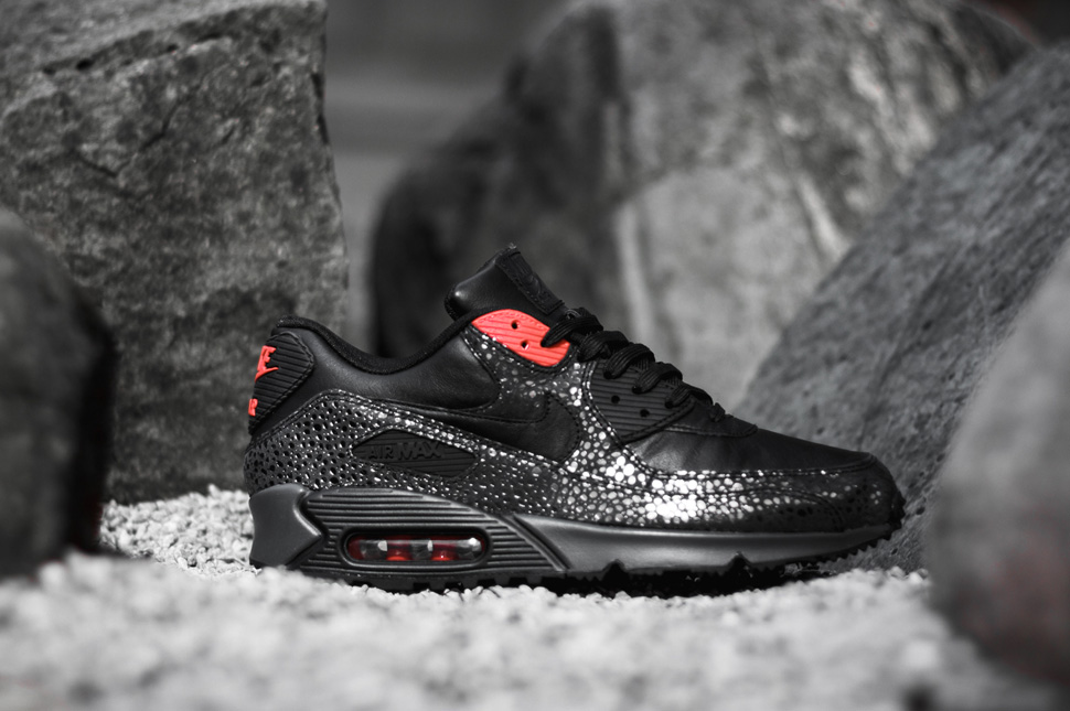 Air Max 90 Luxe 6s Infrarouges Noir