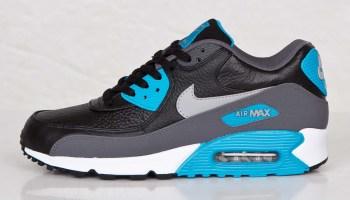 d9af23a1ca5f nike air max 90 laser blue ostrich leather