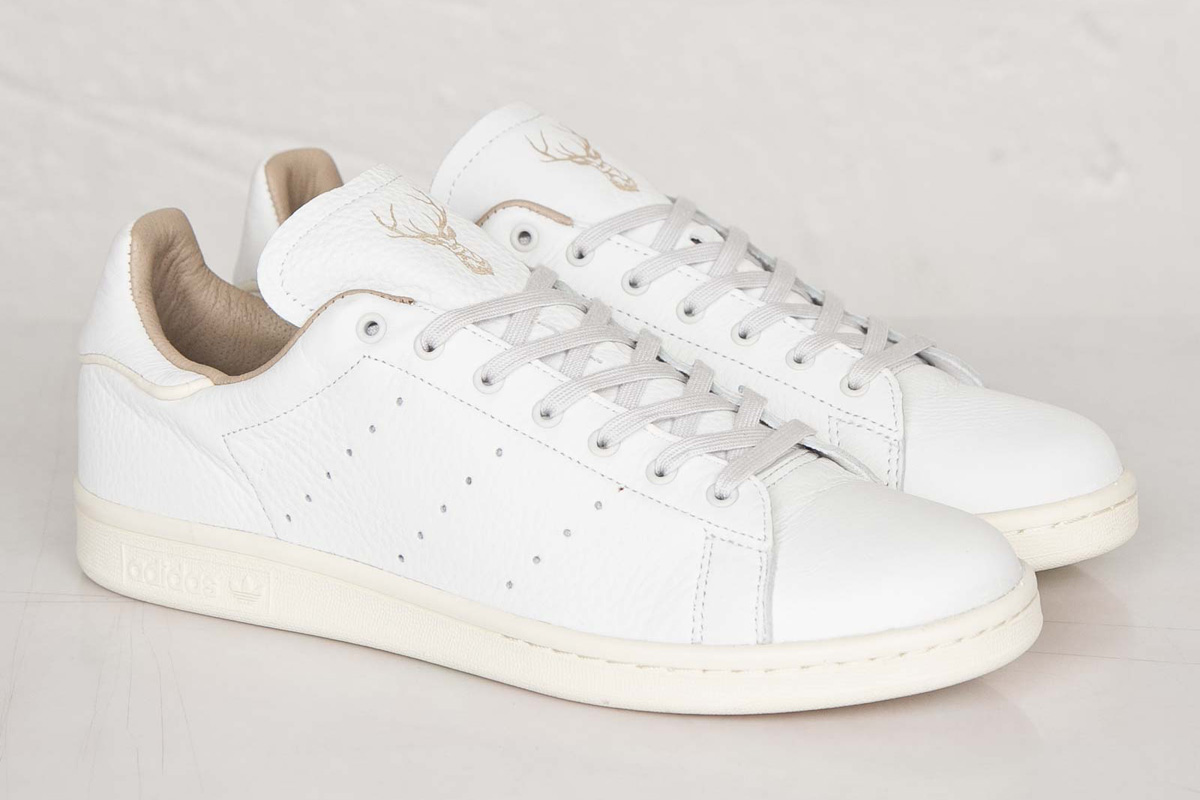 adidas stan smith beige et noir