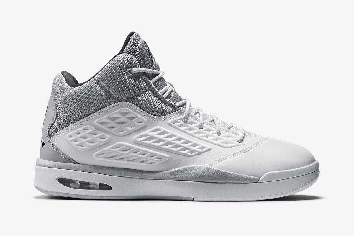 Nike Jordan New School White / Wolf Grey / Black