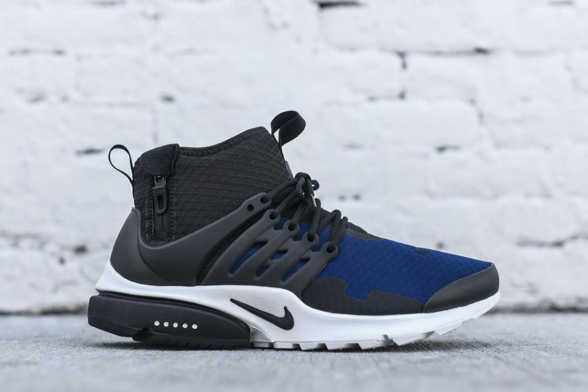 Nike Air Presto Mid SP in Black & Obsidian