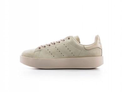 detailed look b30f0 160b7 Linen Adidas Stan Smith Bold · Sneaker News September 22, 2017