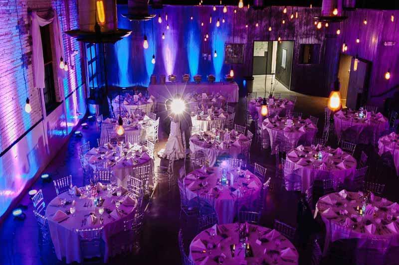 wedding and lights