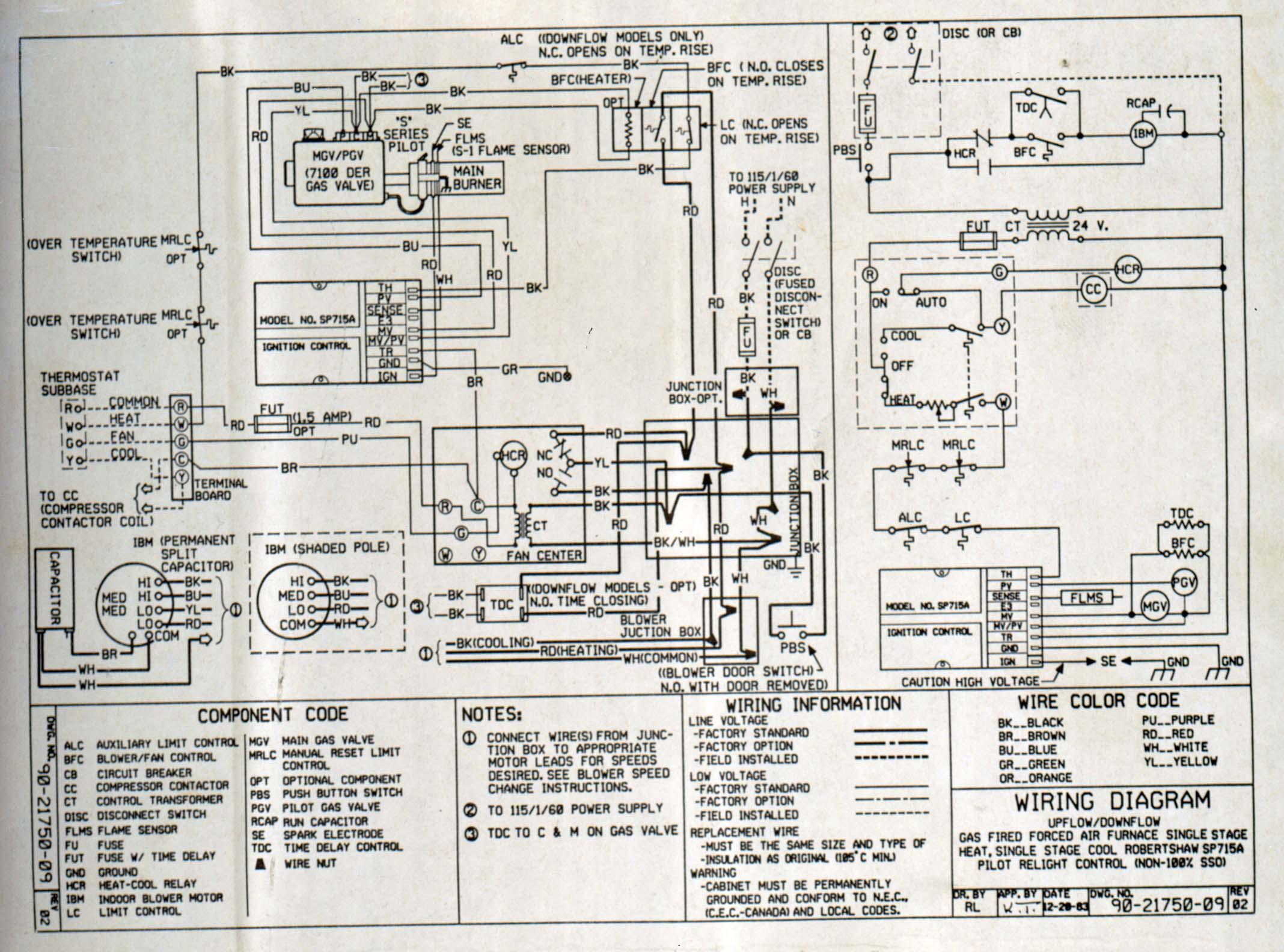 Wiring Diagram For Lennox Furnace Wiring Diagrams – Lennox Furnace Thermostat Wiring