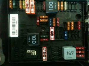 Volkswagen 2008: I just removed a 20 amp fuse from panel B