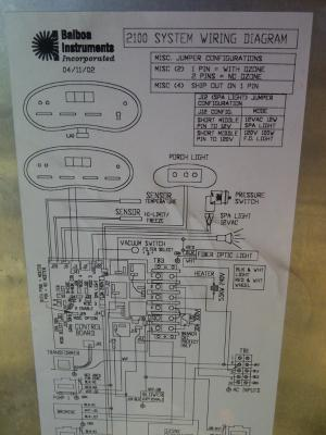 Hi, I have a Cal Spa 2100 series made in 2001 I replaced