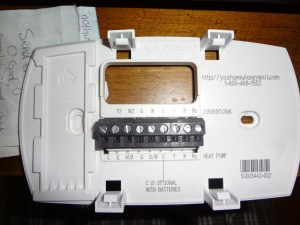 Wiring Diagram Honeywell Thermostat Th3110d1008 Manual Honeywell Thermostat TH3210D1004 Wiring