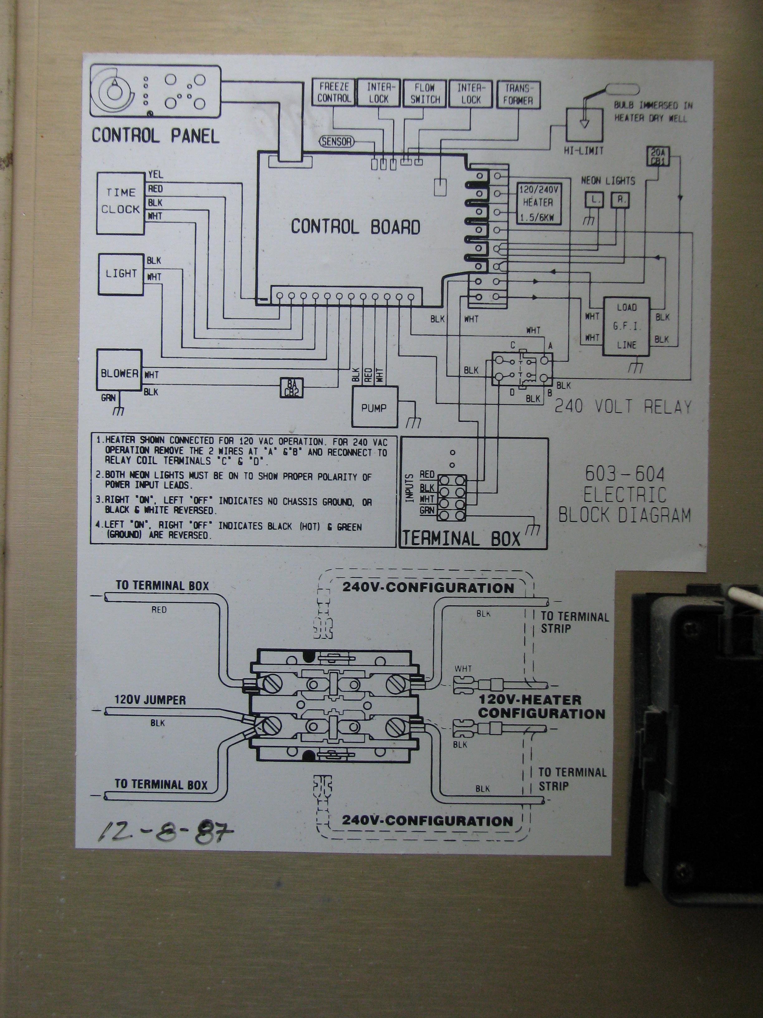 Hot Springs Spa Wiring Jumper Electrical Diagrams Watkins Diagram Ecospas Diy Enthusiasts U2022 Spas Tub
