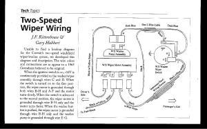 Afi Wiper Motor Wiring Diagram  impremedia