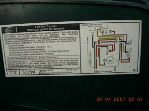 1993 Ford F150: 4X4the EGR valveunder loadcruise control