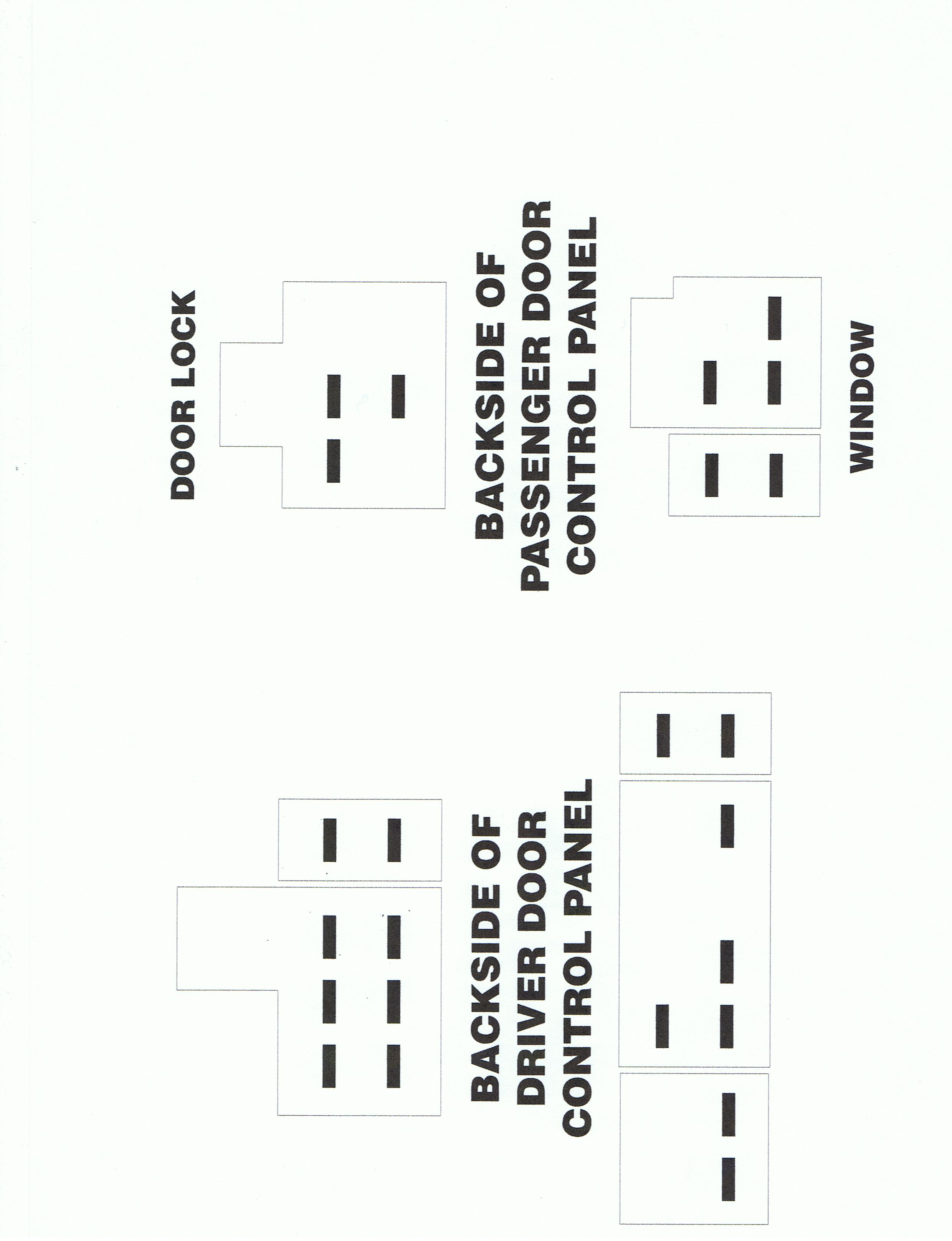 Dodge Kit Located Door Panels Locks And Power Window Switches