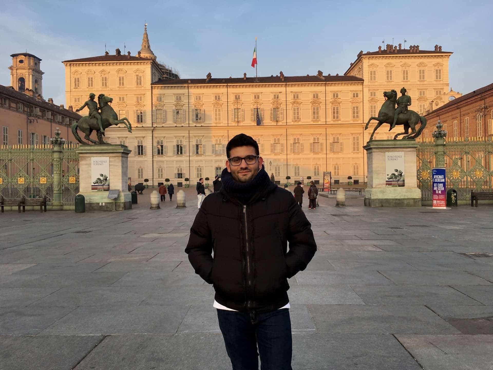 Turin Italy Palazzo Reale (royal palace)