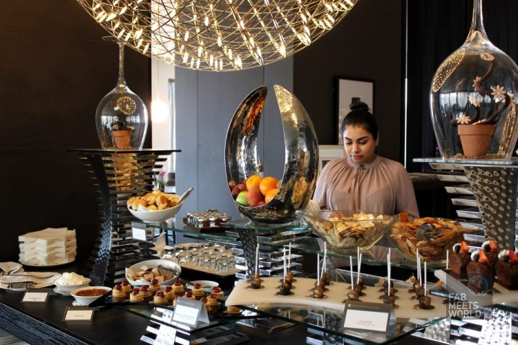 Intercontinental Malta Hotel - Club Intercontinental food