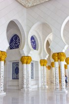 Look at the details in the Sheikh Zayed Grand Mosque in Abu Dhabi