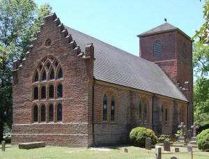 The Old Brick Church (St. Luke's) in Smithfield, VA