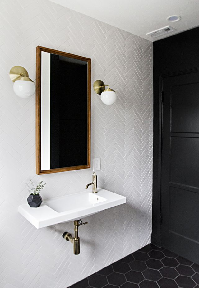design trends tiled accent walls