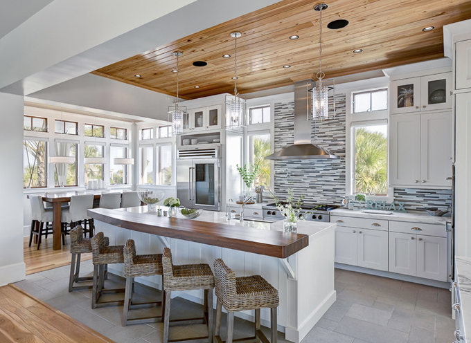 tile by style coastal kitchens that