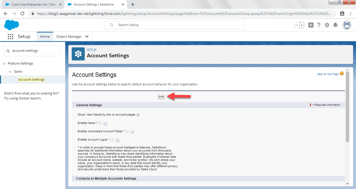 Enable Account Logos in Salesforce
