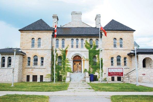 El Museo Olde Gaol sigue funcionando gracias a la ayuda que recibe su personal del proyecto de ingresos básicos.