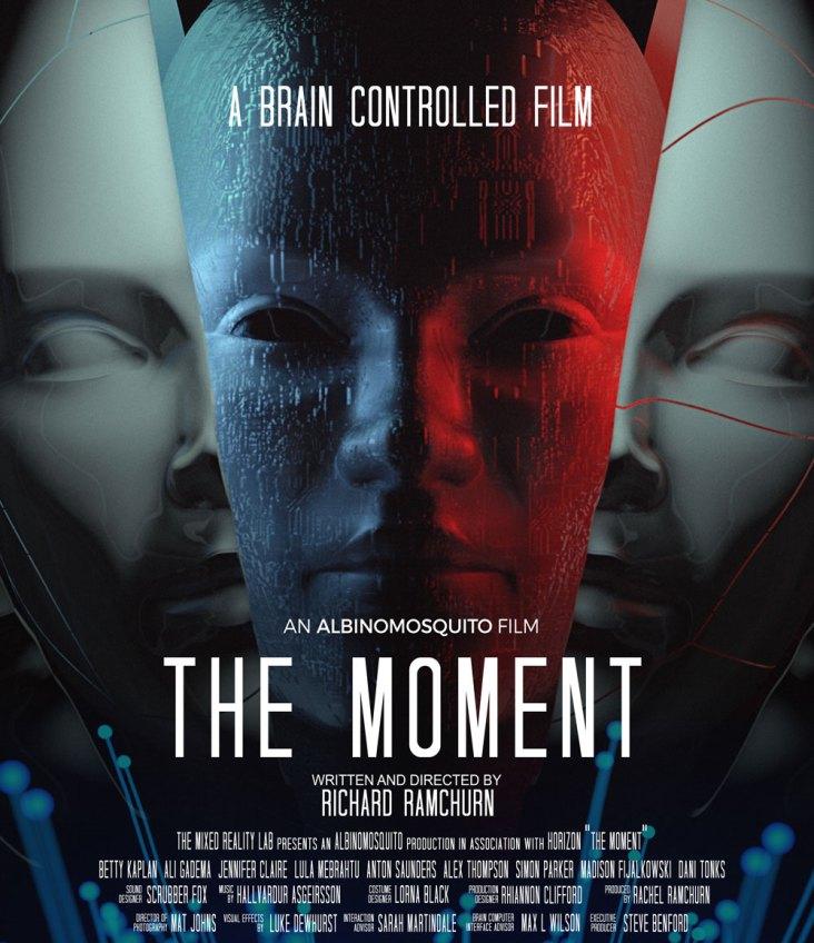 El póster promocional de <i> The Moment </ i>, Richard Ramchurn