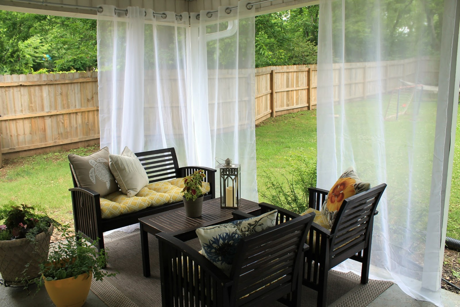 Summer Decoration Ideas For Your Home Outdoor curtains