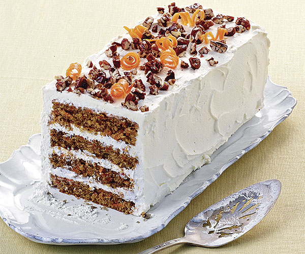 Carrot Cake with Mascarpone Frosting   Recipe   FineCooking Carrot Cake with Mascarpone Frosting