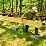A Firm Foundation For A Backyard Shed Fine Homebuilding