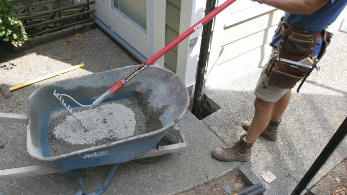 Mix Concrete By The Bag Fine Homebuilding